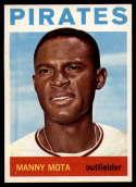 1964 Topps #246 Manny Mota NM-MT Pirates