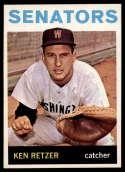 1964 Topps #277 Ken Retzer NM-MT Senators
