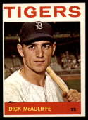 1964 Topps #363 Dick McAuliffe NM-MT Tigers