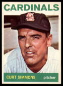 1964 Topps #385 Curt Simmons EX/NM Cardinals