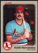 Baseball MLB 1983 Fleer #8 Keith Hernandez NM-MT Cardinals