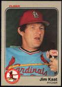 Baseball MLB 1983 Fleer #11 Jim Kaat NM-MT Cardinals