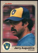 Baseball MLB 1983 Fleer #26 Jerry Augustine NM-MT Brewers