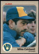 Baseball MLB 1983 Fleer #29 Mike Caldwell NM-MT Brewers