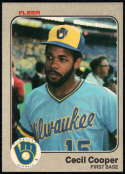 Baseball MLB 1983 Fleer #30 Cecil Cooper NM-MT Brewers