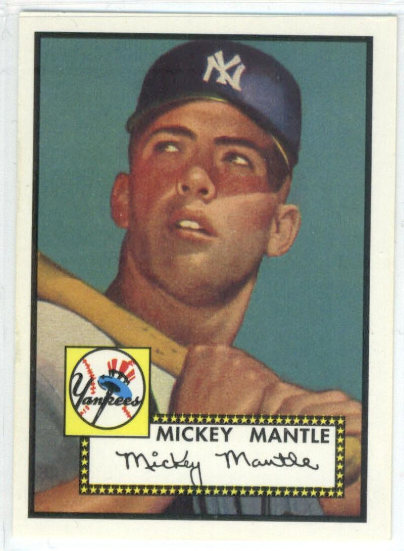 1996 Topps  Mantle Redemption
