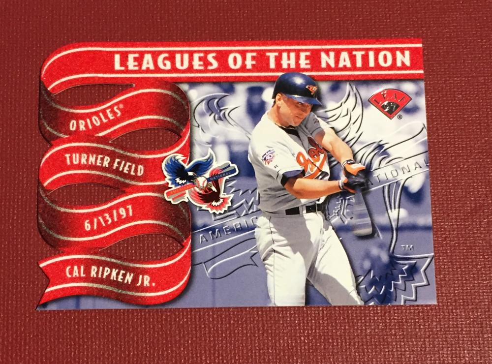 1997 Leaf  Leagues of the Nation