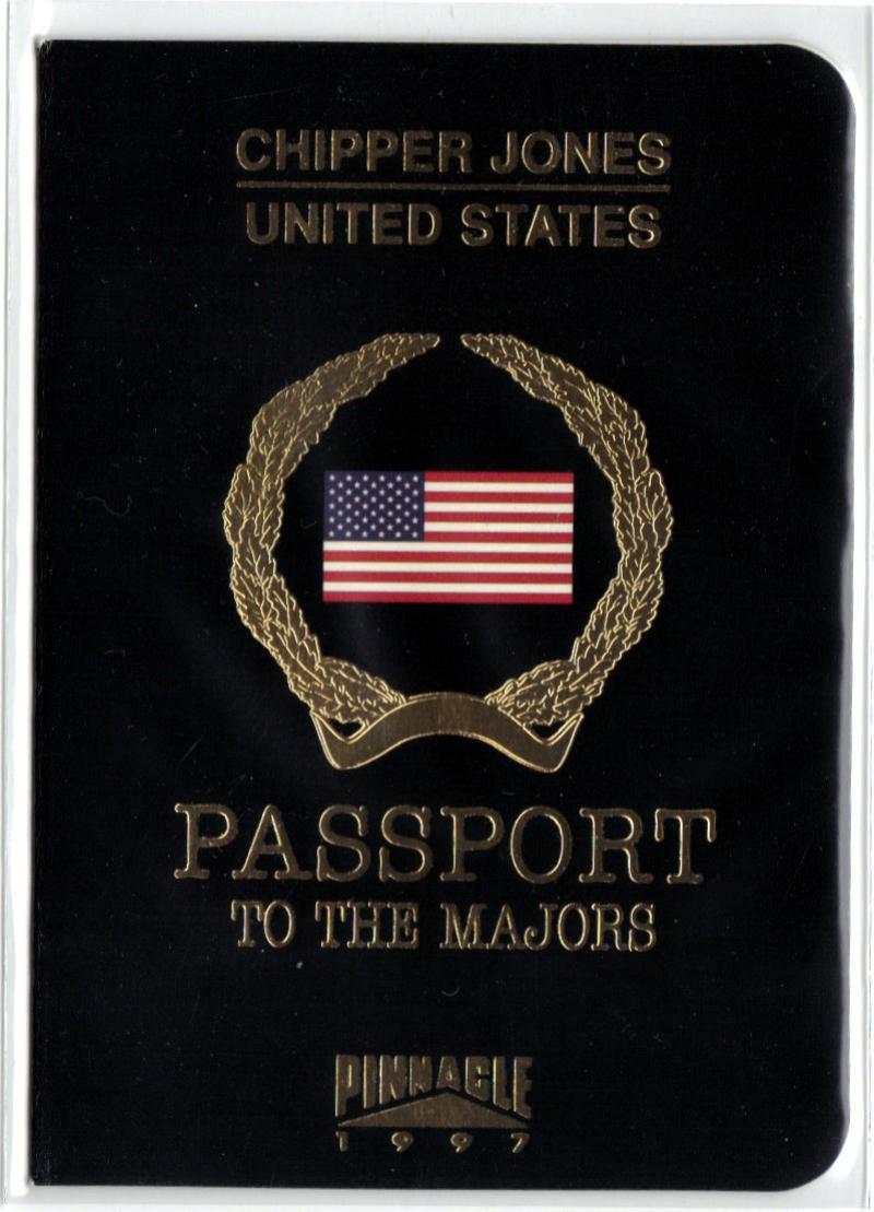 1997 Pinnacle  Passport to the Majors