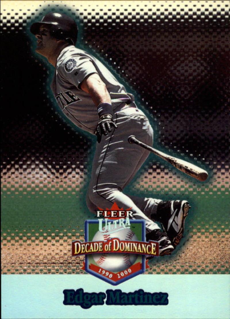 2001 Fleer Ultra Decade of Dominance