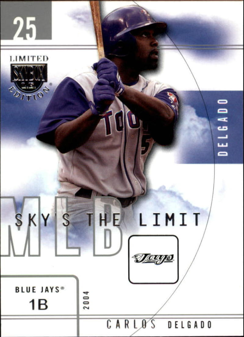 2004 SkyBox LE Sky's the Limit
