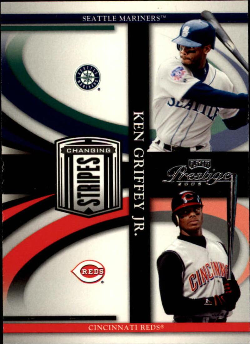 2005 Playoff Prestige Changing Stripes