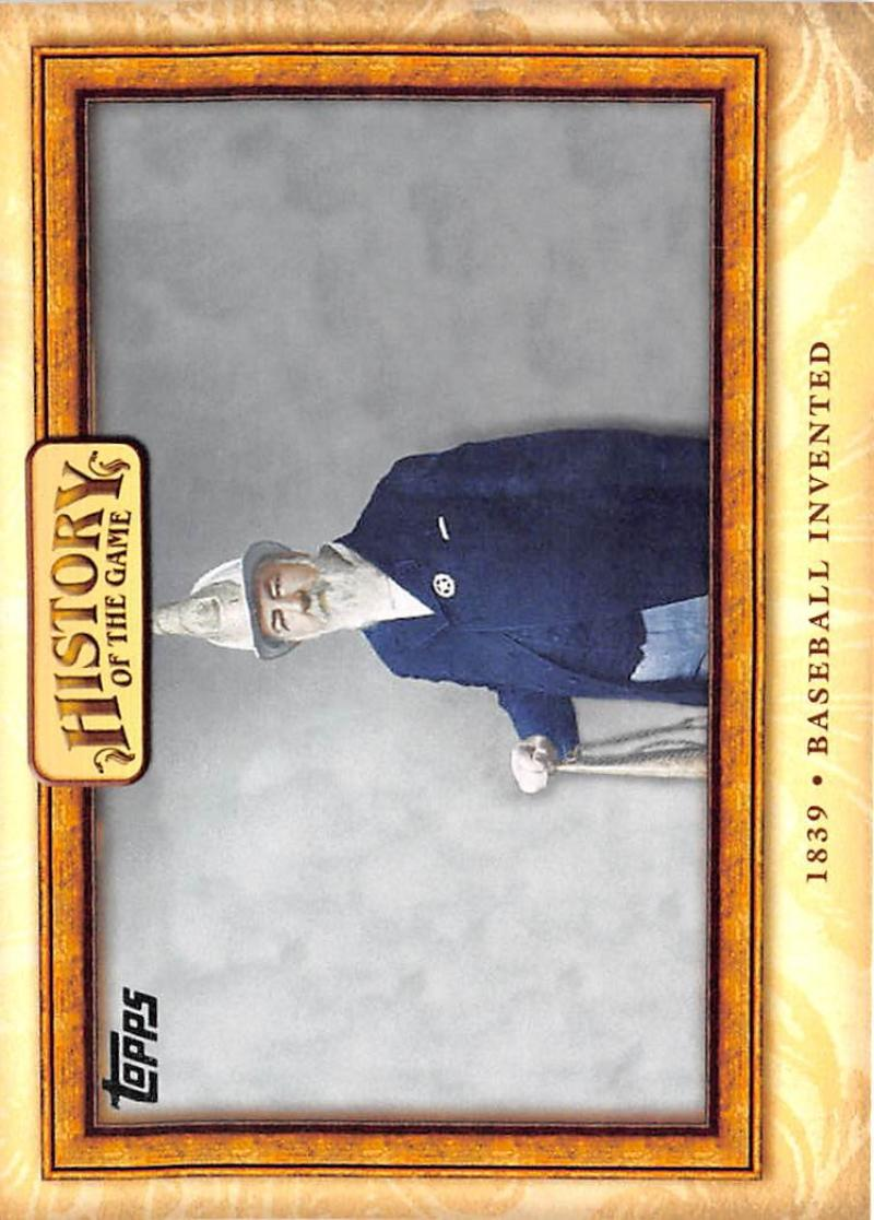 2010 Topps  History of the Game