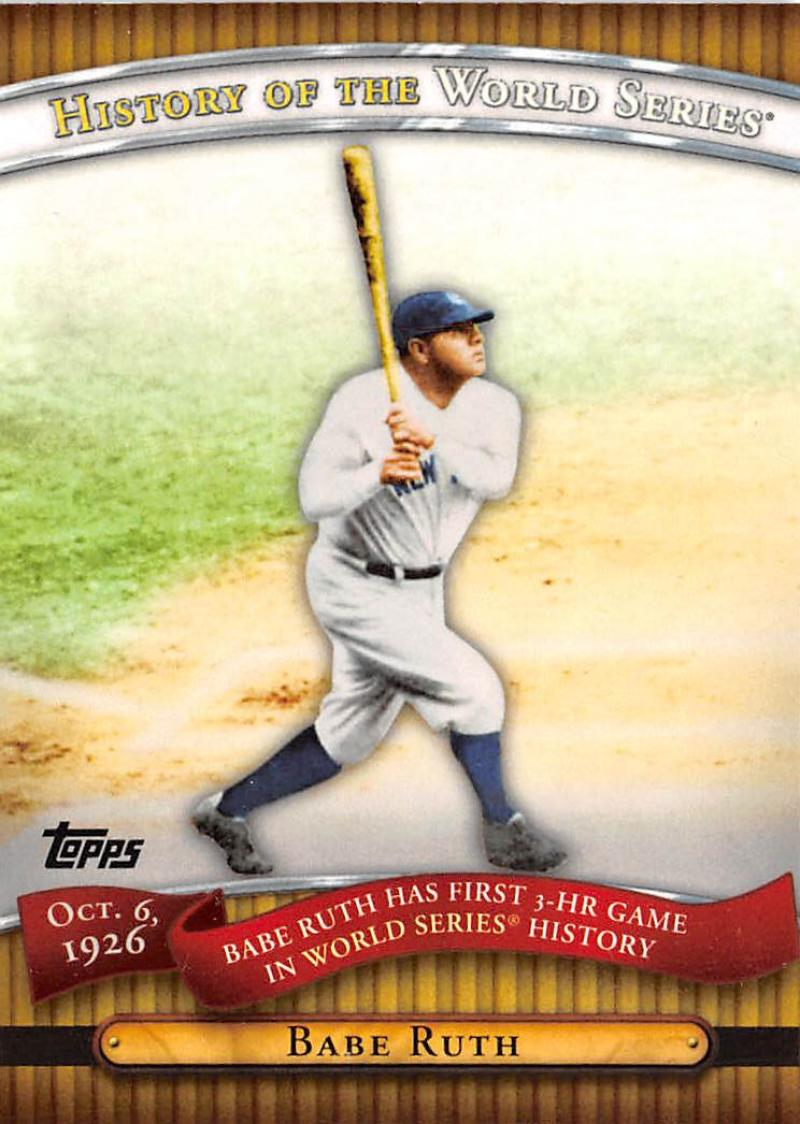 2010 Topps  History of the World Series