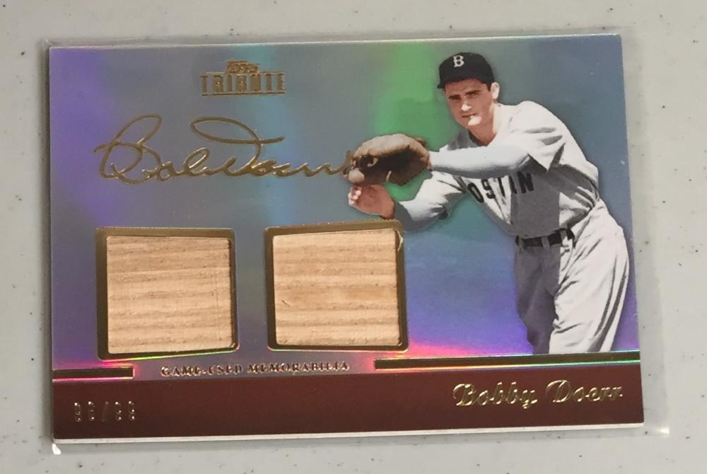 2011 Topps Tribute Dual Relics
