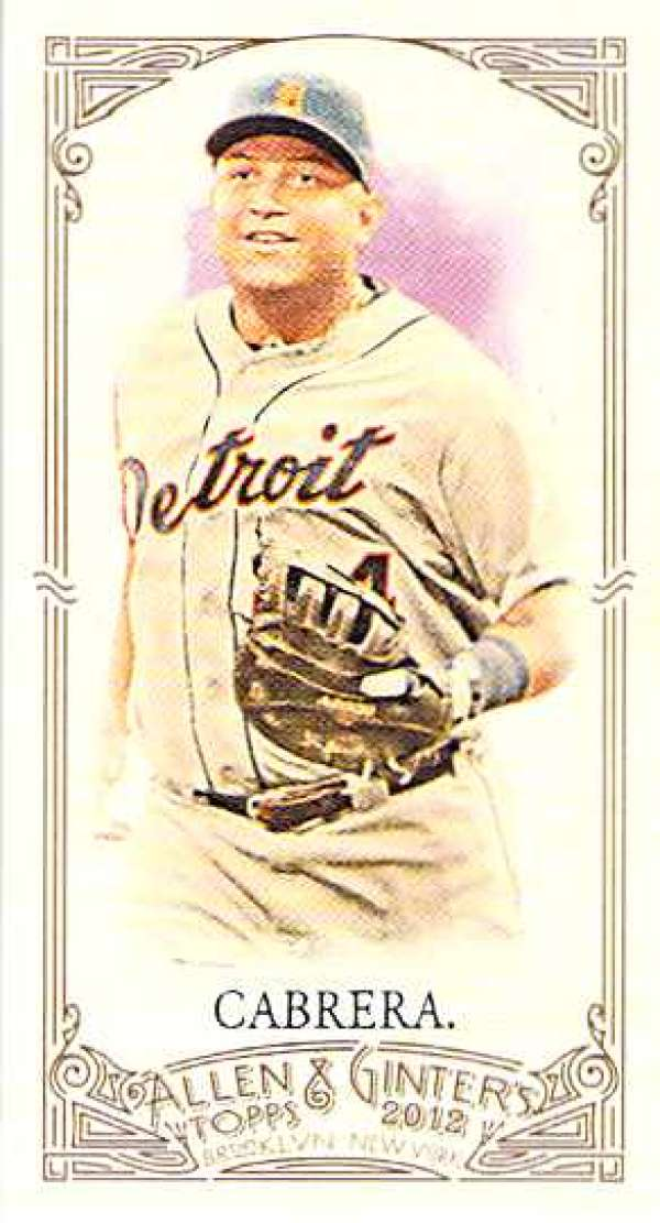 2012 Allen and Ginter  Mini A and G Back