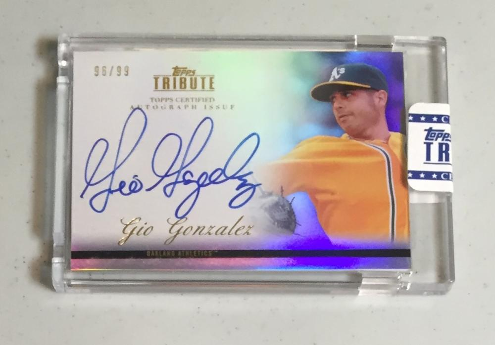 2012 Topps Tribute Autographs