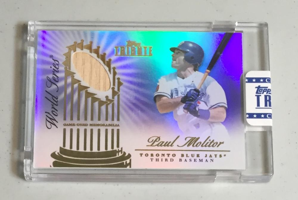 2012 Topps Tribute World Series Swatches