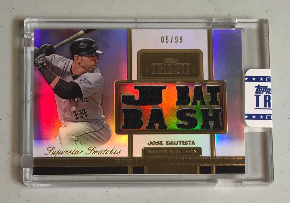 2012 Topps Tribute Superstar Swatches
