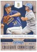 2015 Panini Contenders Collegiate Connections #8 Cody Poteet/Kevin Kramer UCLA Bruins