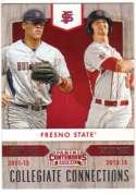 2015 Panini Contenders Collegiate Connections #19 Aaron Judge/Taylor Ward Fresno State Bulldogs