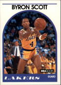 1989-90 Hoops #15 Byron Scott NM-MT