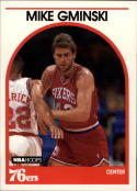 1989-90 Hoops #33 Mike Gminski NM-MT