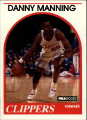 1989-90 Hoops #40 Danny Manning NM-MT RC Rookie