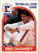 1989-90 Hoops #48 Brad Daugherty NM-MT AS