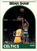 1989-90 Hoops #62 Brian Shaw NM-MT RC Rookie SP