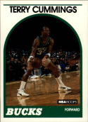 1989-90 Hoops #100 Terry Cummings NM-MT SP