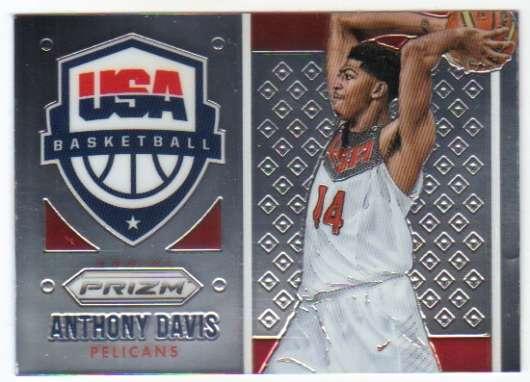 2015-16 Prizm USA Basketball #8 Anthony Davis