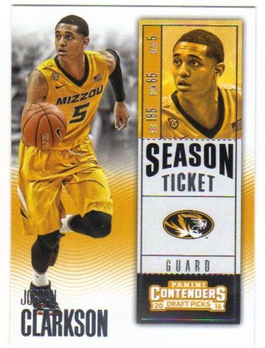 2016-17 Panini Contenders Basketball - Season Ticket ...