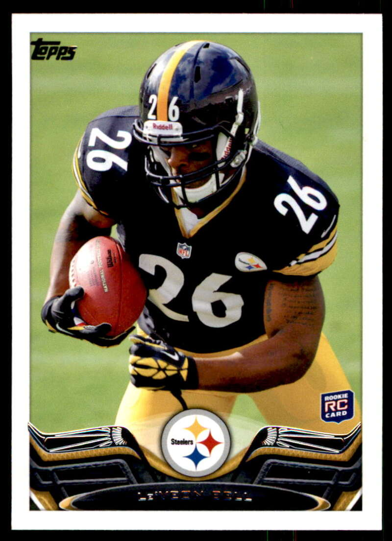 2013 Topps #403 Le'Veon Bell RC Rookie Pittsburgh Steelers
