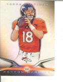 Football NFL 2014 Topps Platinum #21 Peyton Manning NM-MT Broncos
