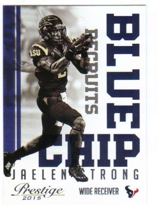 Football NFL 2015 Prestige Blue Chip Recruits #11 Jaelen Strong  Texans