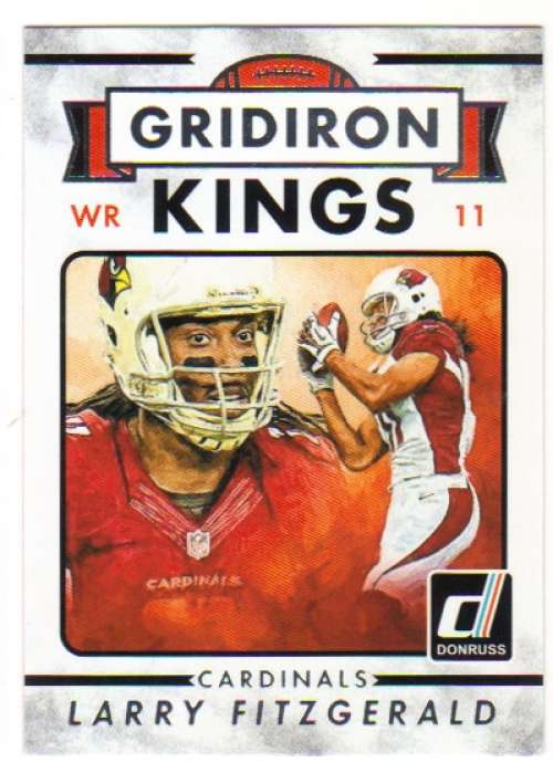 2015 Donruss Gridiron Kings #268 Larry Fitzgerald  Cardinals
