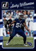 2016 Donruss #290 Avery Williamson Tennessee Titans
