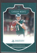 2016 Panini #278 Carson Wentz RC Rookie Philadelphia Eagles
