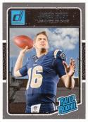 2016 Donruss #372 Jared Goff RC Rookie Los Angeles Rams
