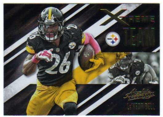 2016 Absolute Xtreme Team #10 Le'Veon Bell  Steelers