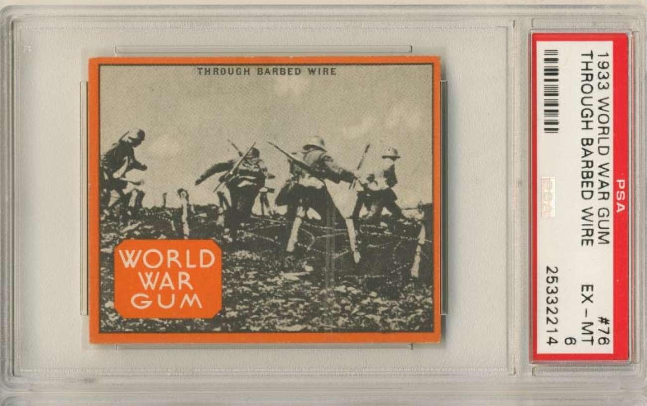 1933 Goudey World War