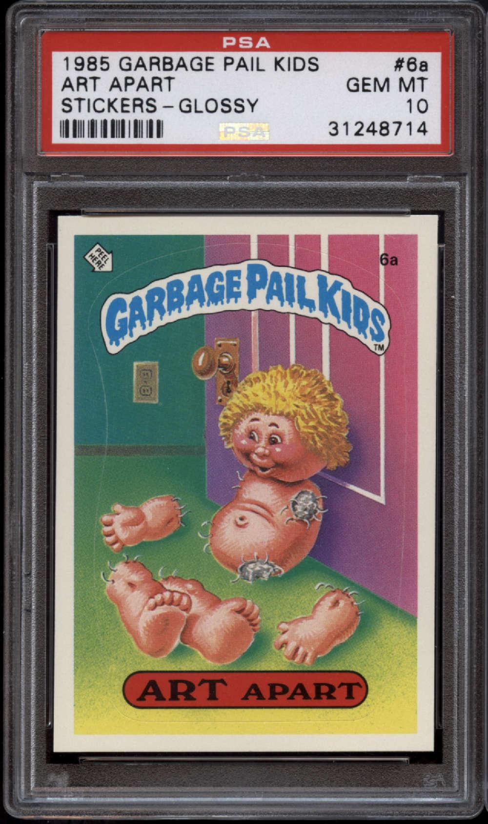 1985 Topps Garbage Pail Kids Series 1