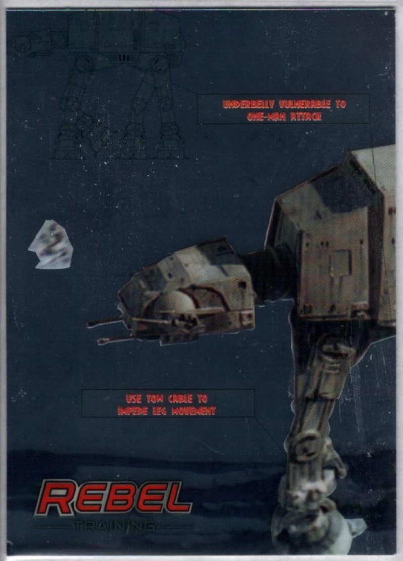 2014 Topps Star Wars Chrome Perspectives Rebel Training