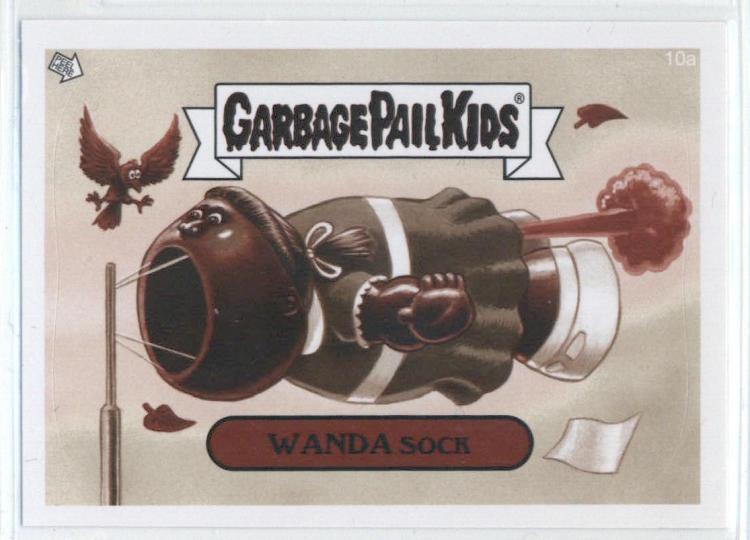 2014 Topps Garbage Pail Kids Sepia