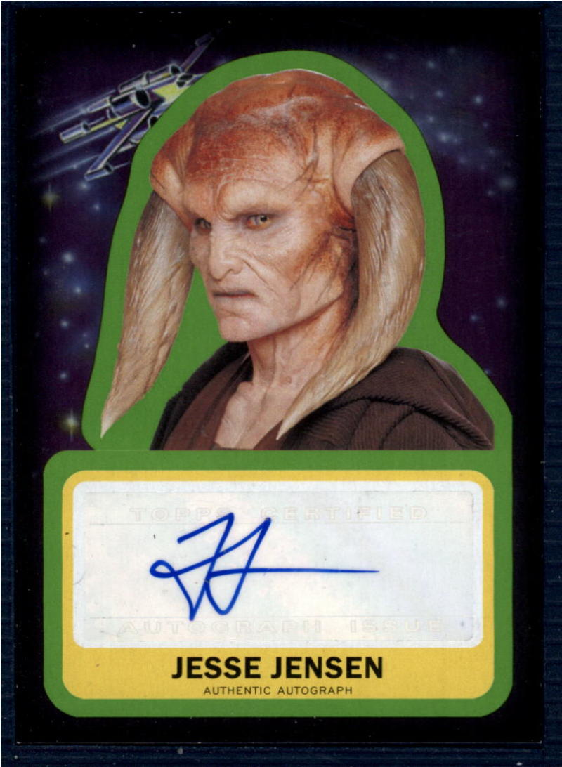 2015 Topps Star Wars Journey to the Force Awakens Autographs