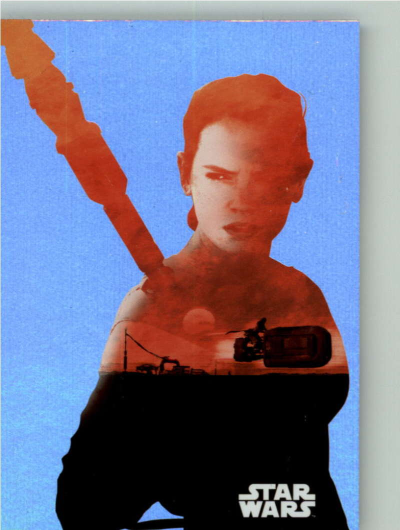 2015 Topps Star Wars Journey to the Force Awakens Silhouette Foils