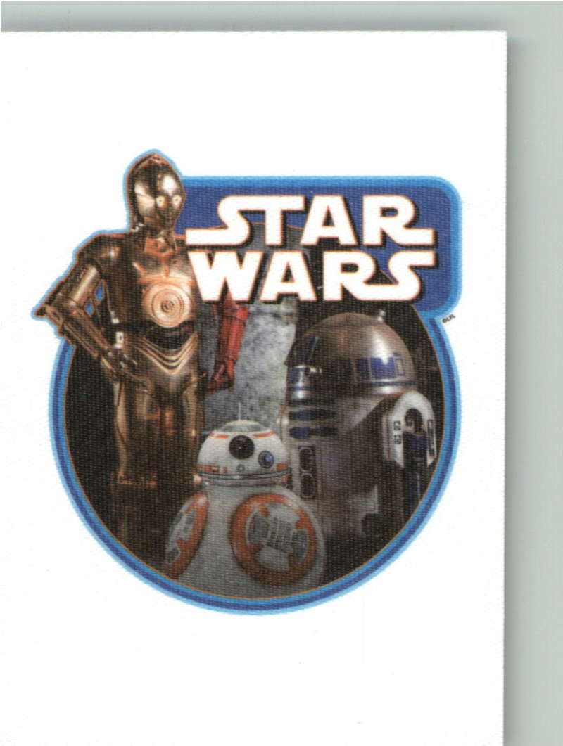 2015 Topps Star Wars Journey to the Force Awakens Cloth Stickers