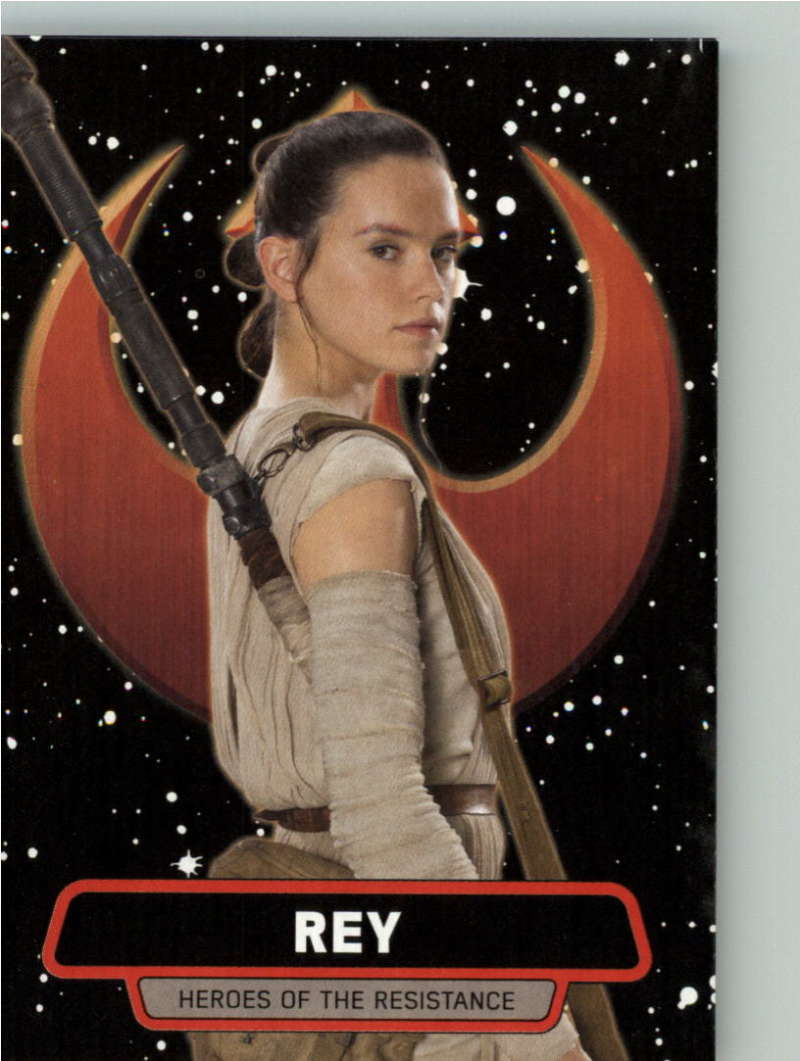 2015 Topps Star Wars Journey to the Force Awakens Heroes of the Resistance