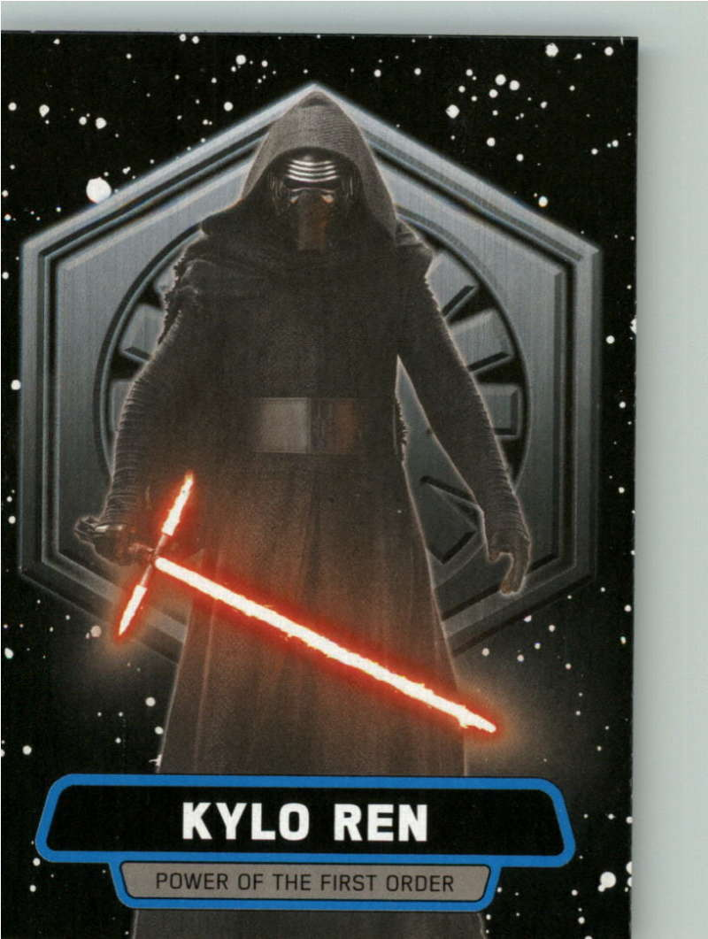 2015 Topps Star Wars Journey to the Force Awakens Power of the First Order