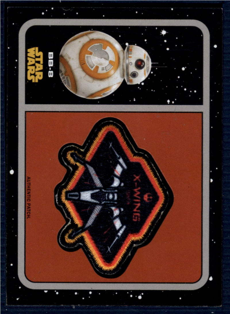 2015 Topps Star Wars Journey to the Force Awakens Patches